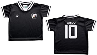 Camiseta Bebê Vasco Preta - Torcida Baby
