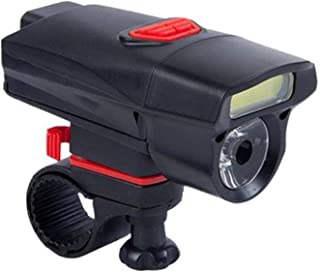Greneric Luz LED Ciclismo IPX6 Impermeable 3 Modo de Luz Fácil de Instalar Frontal y Trasera Fácil de Usar para Bicicleta ...