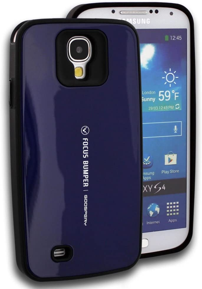 GOOSPERY - San Francisco Mall Focus Bumper Series Samsung Navy S4 Galaxy for Los Angeles Mall