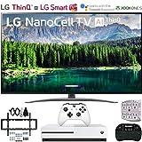 LG 49SM8600PUA 49' 4K HDR Smart LED NanoCell TV w/AI ThinQ (2019 Model) w/Xbox...