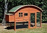 Poulailler d'extérieur en bois Louisiane pour 2 à 3 poules