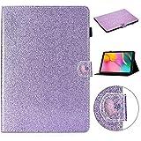 LISUONG MZYD AYDD pour Samsung Galaxy Tab A 10.1 T510 Boucle d'amour de T510 Étui en Cuir...