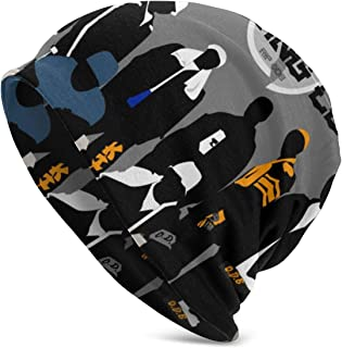 Wu Tang Clan Beanie Skull Cap,Knit Hat Winter Warm Beanie Cap for Men & Women Black