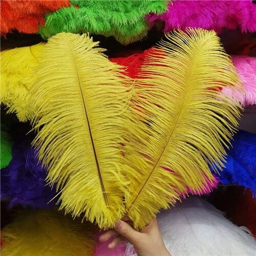 100 Pcs 30-35CM Beautiful Ostrich Craft Feathers Max 47% OFF DIY National uniform free shipping for Jewelry