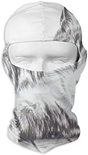 GREEDCLOUD Great Cat Sketch Full Face Masks UV Balaclava Hood Ski Headcover Motorcycle Neck Warmer Tactical Hood for Cycling Outdoor Sports Snowboard