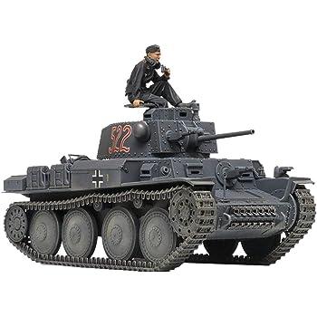 タミヤ 1/35 ミリタリーミニチュアシリーズ No.369 ドイツ軍 軽戦車38 (t) E/F型 プラモデル 35369