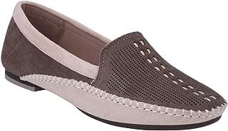 pelle albero Womens Khaki Comfortable Casual Shoes