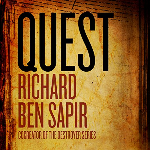Quest audiobook cover art