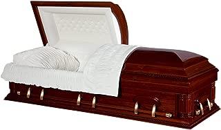 wood casket prices