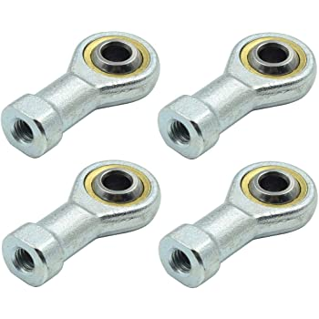 Pack of 1 Rod End Bearing SENRISE M20 Rose Joint Female Bronze Lined Right Hand Thread Heim Joint