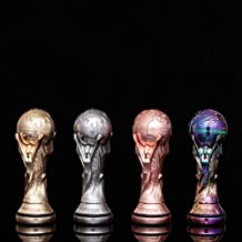 JGHSI 2018 World Cup Titan Trophy Rotating Gyro Cup Decompression Toy, 360 Degrees Rotating Ball (Four color)