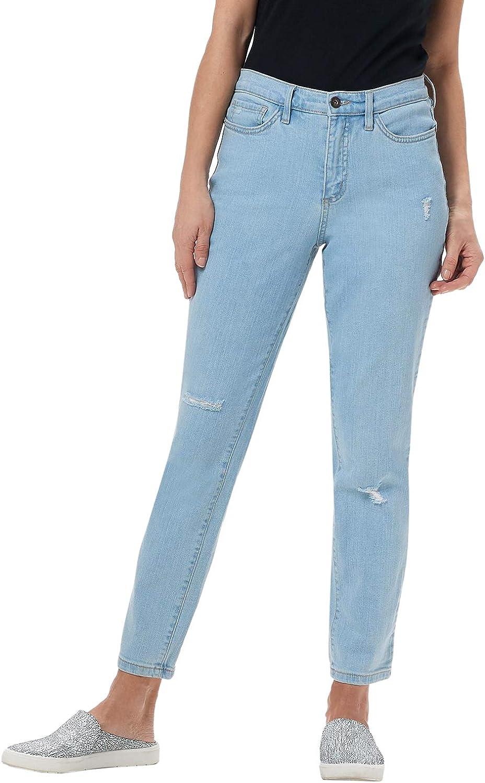 Denim & Co. Studio Ladies Classic Denim Ankle Jeans Plus 20 Bleach A304472