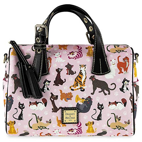 Disney Cats Barrel Satchel Handbag Purse by Dooney & Bourke