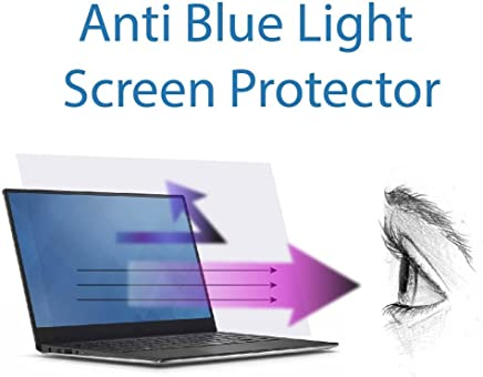 Anti Blue Light Screen Protector (3 Pack) for 15.6 Inches Laptop. Filter Out Blue Light and Relieve Computer Eye Strain to Help You Sleep Better