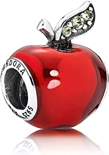 New Disney Pandora Parks Exclusive Snow White's Poisonous Red Apple Bead Charm