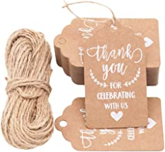 diy thank you tags for favors