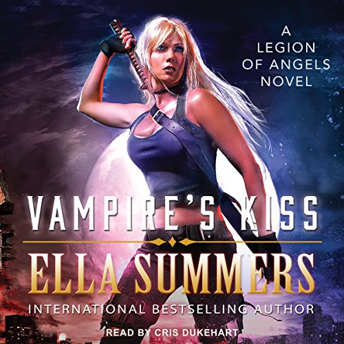 Vampire's Kiss audiobook cover art