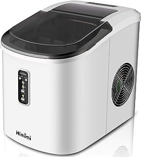 Machines à glaçons Professionnelle Himimi Ice Maker 13KG en 24h, 90w faible consommation d'énergie cube de glace rapide pr...
