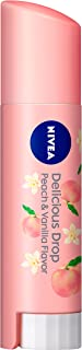 nivea peach lip balm japan