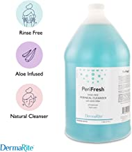 PeriFresh No Rinse Perineal Cleanser, 1 Gallon Peri Bottle Refill - Mild Formula with Aloe - for Incontinence Care, Postpartum - for Men and Women