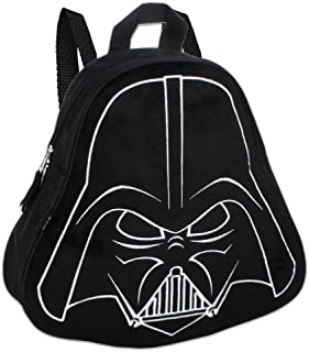 Star Wars Darth Vader (11) Mini Toddler Preschool Backpack (Plush Front)