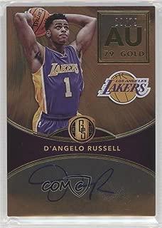 D'Angelo Russell #29/79 (Basketball Card) 2016-17 Panini Gold Standard - AU Autographs #AU-DAR