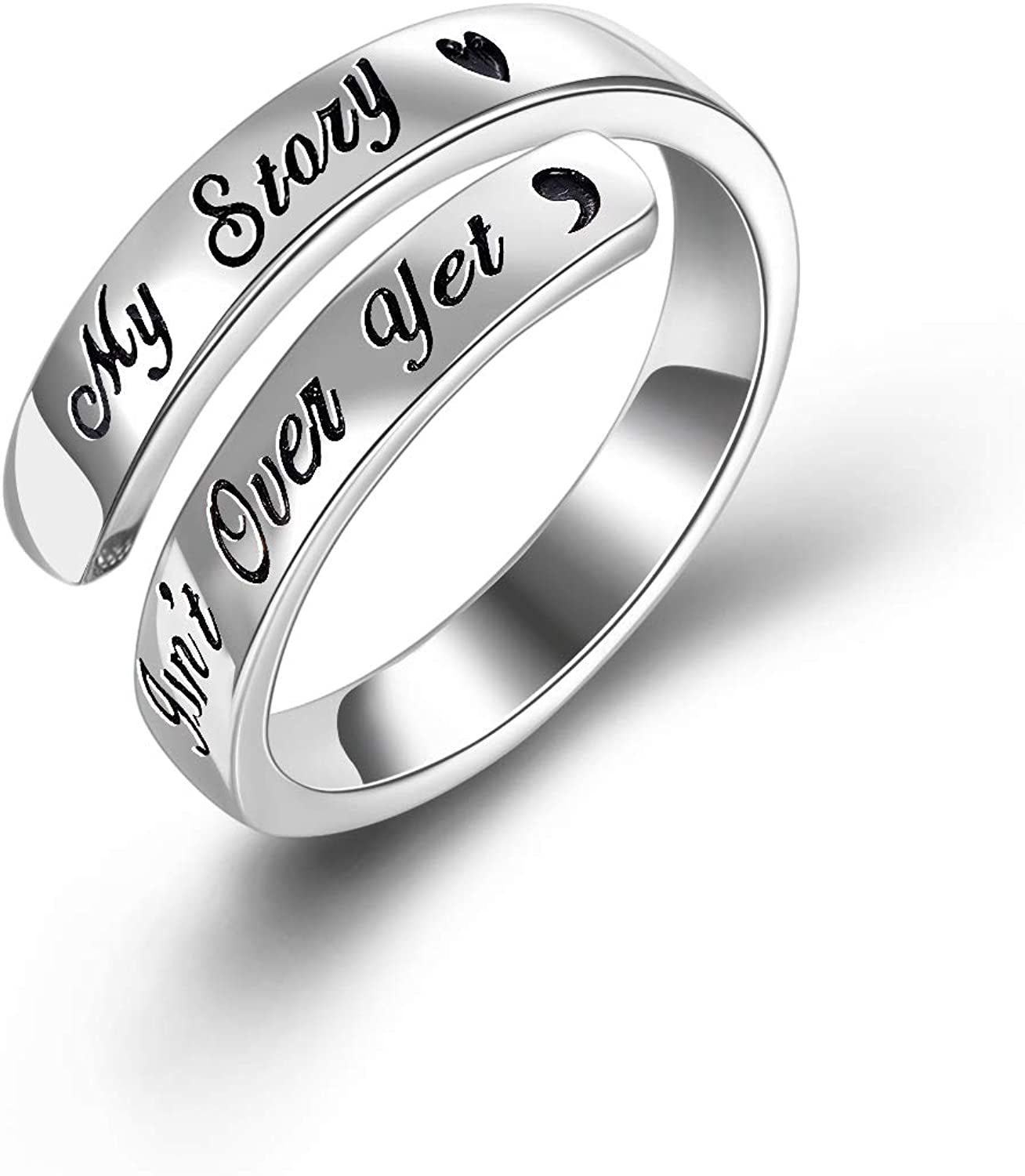 POPKIMI 925 Rare Sterling Silver Ring My Max 46% OFF Over Yet Simple Isn't Story