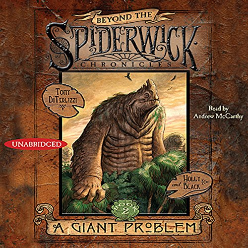 A Giant Problem audiobook cover art
