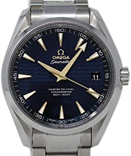 Omega Seamaster Swiss-Automatic Male Watch 231.10.42.21.03.006 (Certified Pre-