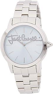 Just Cavalli Womens Quartz Watch, Analog Display and Stainless Steel Strap JC1L006M0065