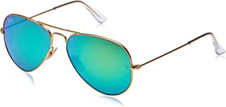 Ray-Ban unisex-adult Rb3025 Aviator Classic Mirrored...