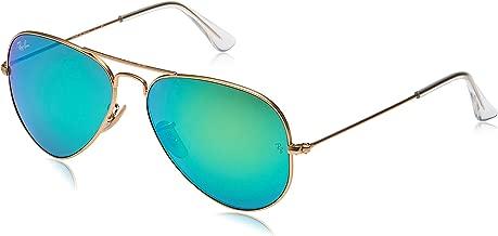 نظارات شمسية افياتور من راي بان لكلا الجنسين - عدسة رمادية متدرجة، عاكسة للضوء