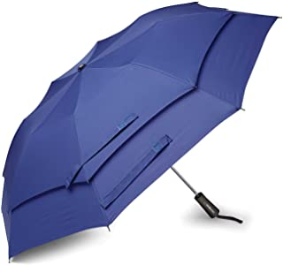 Samsonite Windguard Auto Open Umbrella, Aqua Blue (Blue) - 51700-1012