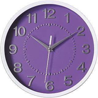 Best purple wall clock Reviews