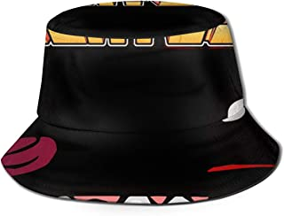 SGDRY15T Super Meat Boy 100% Washed Cotton Bucket Hat Summer Outdoor Cap