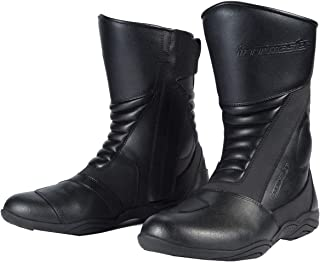 TourMaster Solution 2.0 Men's Cold-Weather WP Road Boots (Black, Size 9)
