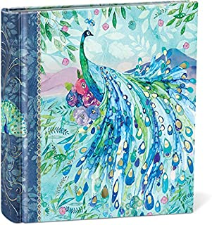 Punch Studio, Pagoda Peacock, Photo Album, Holds 200 4 by 6 inch Photos