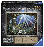 Ravensburger Escape Puzzle Submarine 759 Piece Jigsaw Puzzle for Kids and Adults Ages 12 and Up - an Escape Room Experience in Puzzle Form