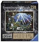 Ravensburger 4005556199594 - Rompecabezas para adultos, 759 piezas bajo el agua, rompecabezas , color/modelo surtido