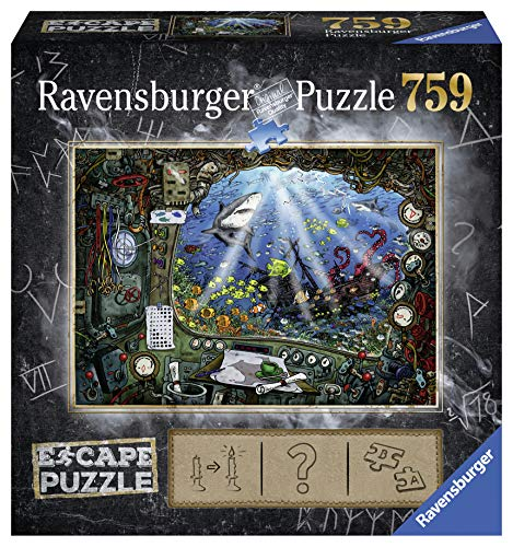Ravensburger 199594 Puzzel Escape 4 Submarine - 759 Stukjes