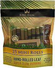 King Palm Mini Size Natural Pre Wrap Palm Leafs (25 Pack)