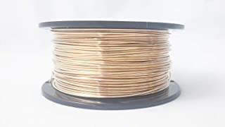 1 Ounce (120 Ft) Bronze Wire 28 Gauge, Round, Dead Soft - from Craft Wire