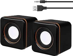 USB Computer Speakers, Small Speakers for Laptop Desktop Netbook & PC