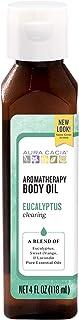 Aura Cacia Clearing Eucalyptus Aromatherapy Body Oil   4 fl. oz.