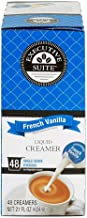 Executive Suite French Vanilla Liquid Coffee Creamer Singles, 0.38 Oz, Box Of 48 Coffee Creamers