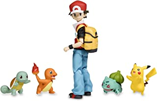 Good Smile Pokemon: Red Figma Action Figure with Pikachu