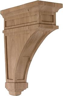 Ekena Millwork CORW05X07X14TRWA-CASE-4 Corbel Factory Primed
