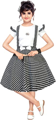 Kids Pinafore Party Dress for Girls
