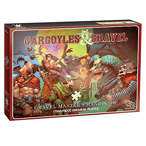 Team Fortress 2 Gargoyles and Gravel 1000 Piece Puzzle