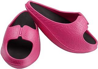 室内スリッパ バランスサンダル 下半身にエクササイズ 履くだけでパーフェクトのスタールを持てる 男女兼用 ピンク L(25.5-26.5cm)